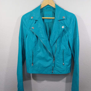 Pretty Little Liars Aeropostale Crop Moto Jacket